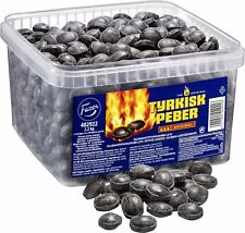 TYRKISK PEBER (Turkish Pepper) candy 2.2kg Extra Hot looseweight FAZER Finland