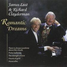 "James Last & Richard Clayderman ""Romantic Dreams"" NEW & SEALED CD 1st Class Post"