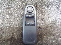 PEUGEOT 308 2007-2013 DRIVER SIDE 2 WAY ELECTRIC WINDOW SWITCH 96565186XT