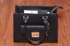 NWT Michael Kors $358 Bridgette Medium East West EW Tote Bag Purse Black/Gold