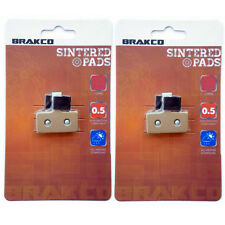 BRAKCO Sintered Disc Brake Pads Shimano XTR BR-M985 BR-MM785 BR-M666