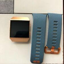 Fitbit Ionic Fitness Tracker, One Size - Slate Blue/Burnt Orange