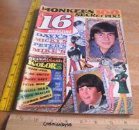 16 Magazine 1967 The Monkees Leonard Nimoy Beatles Davy Jones Mod Hermans Hermit