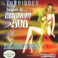 MAGNUM 500 Forbidden Sounds / Talking Pipes CD NEW  Instrumental Surf Rockabilly