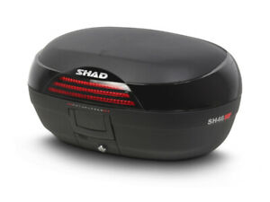 SHAD SH46 46 Litre Top Box Motorcycle - Scooter - Official SHAD Stockist