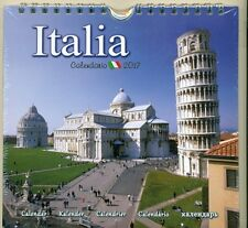 COLLECTIBLE CALENDAR - 2017 - ITALIA - CALENDAR OF SIGHTS OF ITALY - NEW SEALED
