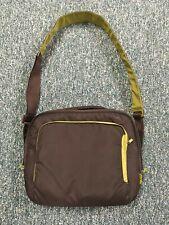 BELKIN Brown & Green Laptop Messenger Bag w/ Pouch