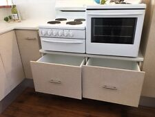 Westinghouse Elevated Electric Oven and Cooktop
