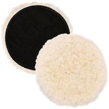 """7"""" Natural 100% Wool 1"""" Pile Grip Buffing & Polishing Pad"""