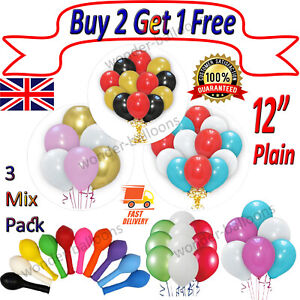 30 X Large PLAIN BALOONS BALLONS helium BALLOONS Quality Party Bday Wedding UK