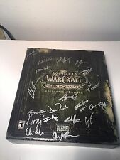 World Of War Craft Collectors Edition Burning Crusade Signed