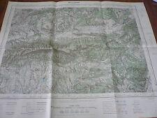 Ancien PLAN, Carte de Reillanne, Cabrieres, 1936…IGN
