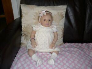 Reborn Open Eyed Girl Doll