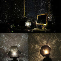 Fantasy LED Star Projector Lamp Galaxy Style Night Light Sky Projector Baby Kids