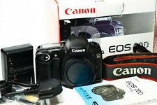 Canon EOS 20D Digital SLR Camera DSLR boxed in very good condition