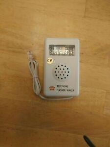 PHILMORE TEC48 HEARING IMPAIRED PHONE LIGHT FLASHER/RINGER.NEW