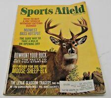 Sports Afield December 1972- Paintings of African Game- Super Deer