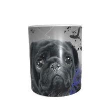 Mops   -Keramiktasse-Kaffeetasse -- Neu - Funtasse-Pug