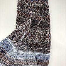 Nic + Zoe Faux Wrap Skirt Midi NWT Casa Blanca Moroccan Tribal Print Sz XS