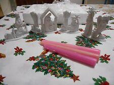Dickson Nativity Candle Holder Set