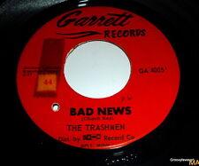 The Trashmen Bad News On the Move Garage 60's Surf Hot Rod Rocker 45 rpm record