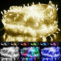 Christmas Fairy Lights 20-1000 LEDs Wedding Party Holiday Xmas Tree Decoration