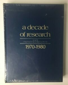 A Decade of Research: Xerox Palo Alto Research Center 1970-1980 - Original Seal