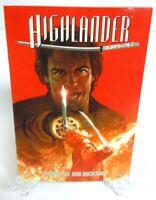 Highlander Vol 2 Dark Quickening Red Cover TPB New Trade Paperback Dynamite