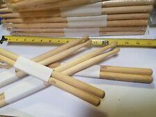 48 Pairs Zenison 2B Nylon TIP Natural Maple Wood Drumsticks