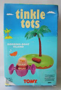 RARE VINTAGE 90'S TINKLE TOTS BOBBING BOAT ISLAND 6004 TOMY NEW UNUSED !