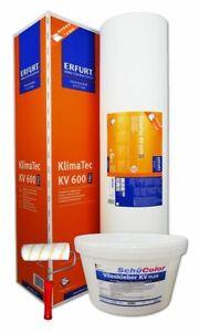Erfurt KlimaTec KV 600 Pro 15x1m Thermovlies 4 mm + Vlieskleber + Kleisterrolle