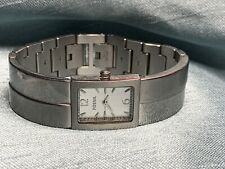 Ladies Fossil Bangle Link Stainless Steel Quartz Watch