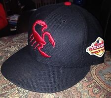 2016 Greg Bird Arizona Fall League Game Used Hat! Mlb Holo Yankees Rangers Rare