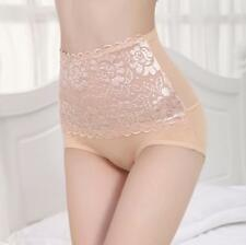 Women High Waist Soft Lace Knickers Briefs Panties Lady Underpants Lingerie Sexy