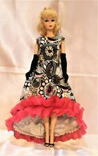 Barbie's Silkstone vintage reproduction handmade DRESS.NO DOLL ,no gloves