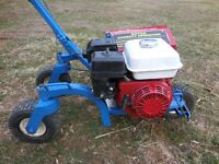 EZ Trencher BE310A Model Walk Behind Bed Shaper Honda Engine w Extra Parts