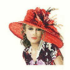 Heritage Crafts Cross Stitch Kit - John Clayton Elegance Miniatures - Victoria
