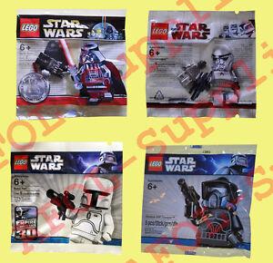 LEGO Star Wars 4x Limited Edition Minifiguren Set 2009-2011