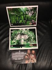 Triple H Official 8x10 WWE Promo Pics  2018 Lot Of 2 Connors Cure & Bonus Promo