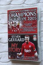 Liverpool FC - Champions Of Europe 2005, My Story Steven Gerrard (DVD, 2 disc)