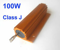2Pcs 100W Watt Power Metal Shell Wirewound Resistor 1K Ω ~ 50K Ω ohm Class J ±5%