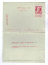 Belgium 10 Centimes Postal Stationery Letter Card, NM