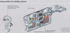 Original ABUS BRAVUS Profildoppelzylinder 30-35 mit 2 Schlüssel vom Fachhändler