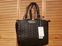 Rampage Womens Quilted Snake Mini Satchel RETAIL $78.00