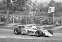 Photo Mario Andretti Alfa Romeo 179C 1981 San Marino F1 Grand Prix Imola GP