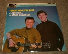 Tonight And Every Night Robin Hall Jimmie MacGregor~1962 UK Import Celtic Folk
