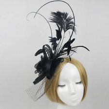 Feathers Clip Special Occasion Fascinators for Women
