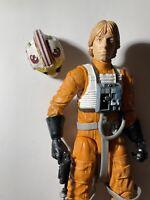 "Luke Skywalker X-Wing ORANGE 6"" The Black Series STAR WARS #01 Hasbro"