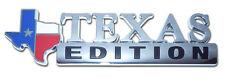 Texas Edition Auto Emblem [NEW] Flag State Truck Chrome Metal Car Decal MVP