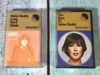 HELEN REDDY - THE BEST OF HELEN REDDY CASSETTE And LONG HARD CLIMB